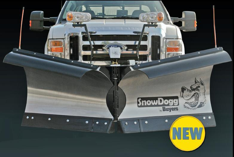 (1 LEFT!!!) CALL FOR SPECIAL PRICING!! NEW SnowDogg 8.5' Stainless Steel V-Plow