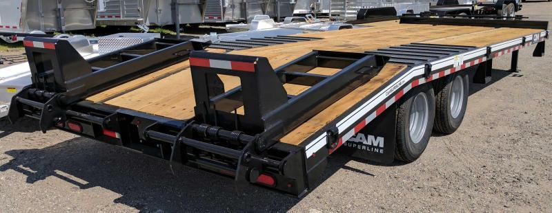 2018 Cam Superline 20 + 5 HD Deckover Tagalong w/Electric Brakes Trailer