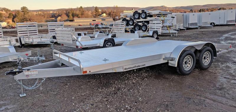"NEW 2018 ATC 18"" ""ARROW CH"" Open Aluminum Car Hauler"