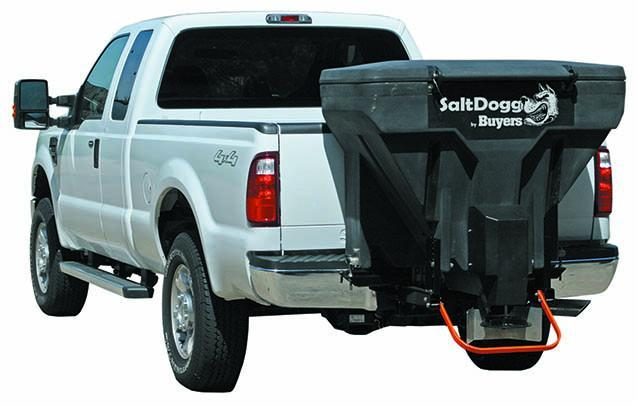 NEW Saltdogg 11 Cu Ft Tailgate Spreader w/ Auger & Vibrator - Hitch Mounted (Bulk Salt & Bag Salt)