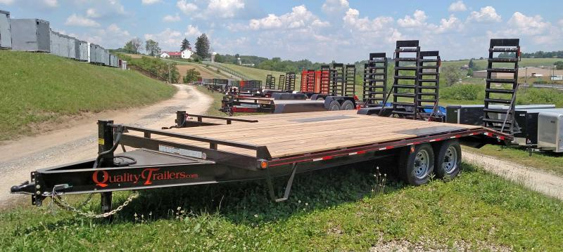 NEW 2018 Quality 16+4 General Duty Deckover Tagalong Trailer