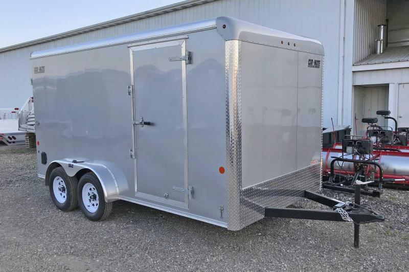 NEW 2018 Car Mate 7x14 HD Custom Enclosed Cargo w/Ramp