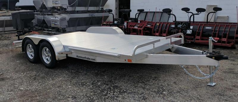 "NEW 2019 ATC 18' "" ARROW CH-X"" Aluminum Car Hauler"