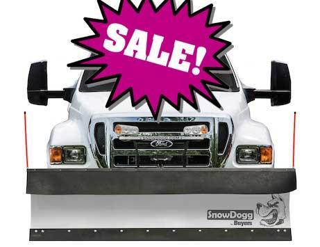 CALL FOR SALE PRICE!! NEW Snowdogg 10' HD Commercial Stainless Steel Snowplow- 2 LEFT IN STOCK