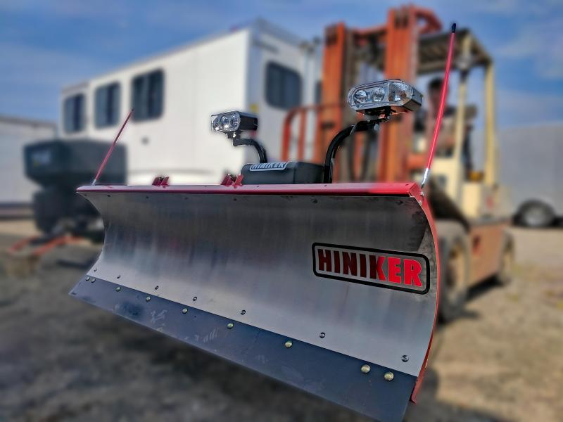 NEW Hiniker 7' Mid-Size Stainless Steel Snow Plow