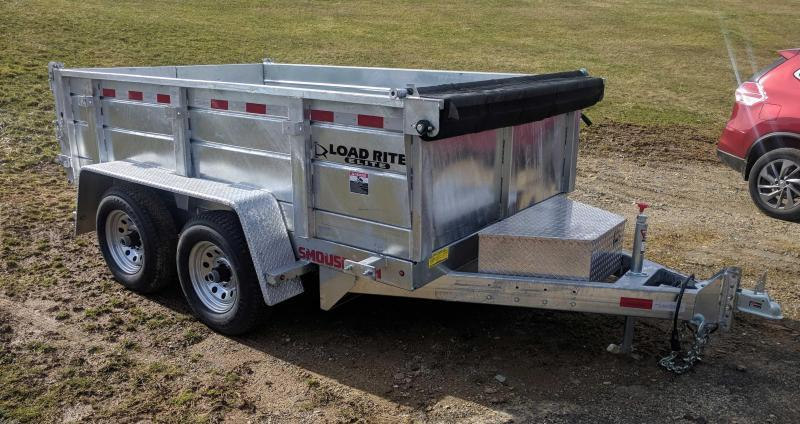 NEW 2019 Load Rite 6x10 Lo Pro Dump Trailer - GALVANIZED
