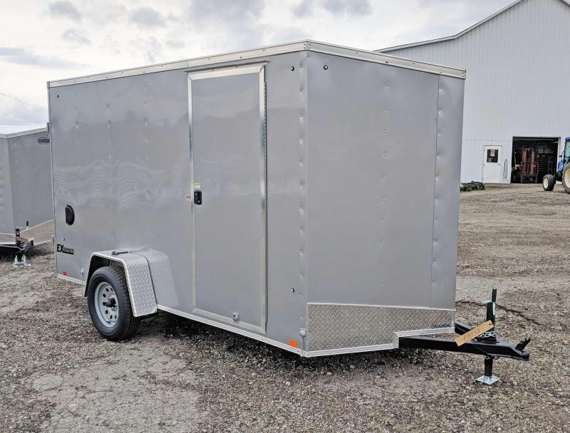 NEW 2020 Cargo Express 6x12 EX DLX V-Nose Cargo Trailer w/ Barn Doors