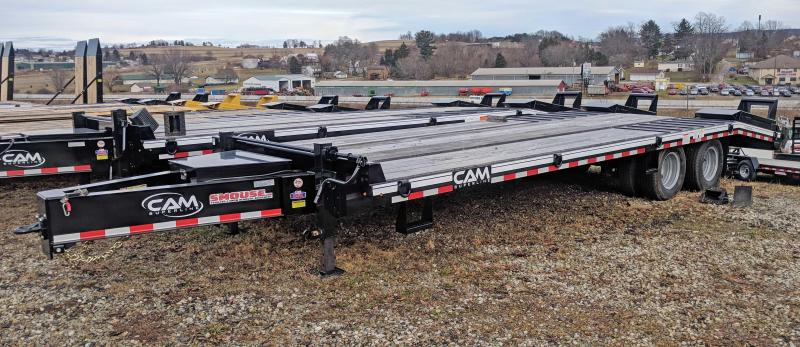 NEW 2019 CAM 20+5 HD Deckover Tagalong w/ Electric Brakes