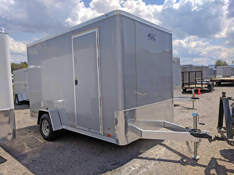 NEW 2018 ATC 7X12 Raven Aluminum Cargo Trailer w/Rear Ramp Door