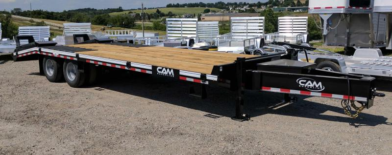 NEW 2018 Cam Superline 20 + 5 HD Deckover Tagalong w/Electric Brakes Trailer
