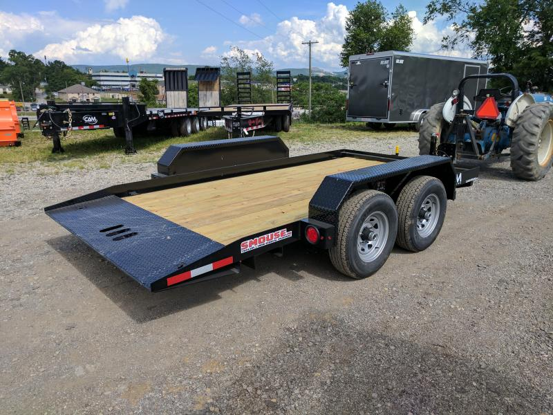 NEW 2019 CAM 14' Lo Pro Full Tilt Trailer