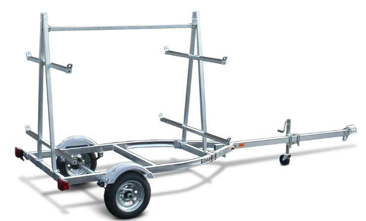 NEW 2018 Load Rite (4 Place) Kayak Trailer