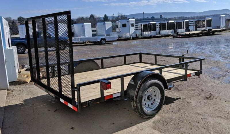 NEW 2019 Quality 6x10 General Duty Utility Trailer w/Spring Assist Gate