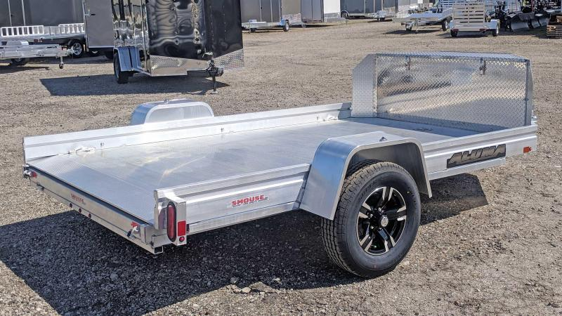 NEW 2020 Aluma 10' UTV Trailer w/ Slideout Ramp