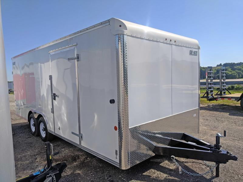 NEW 2018 Car Mate 8.5 x 20 HD Car Hauler w/ Ramp Door