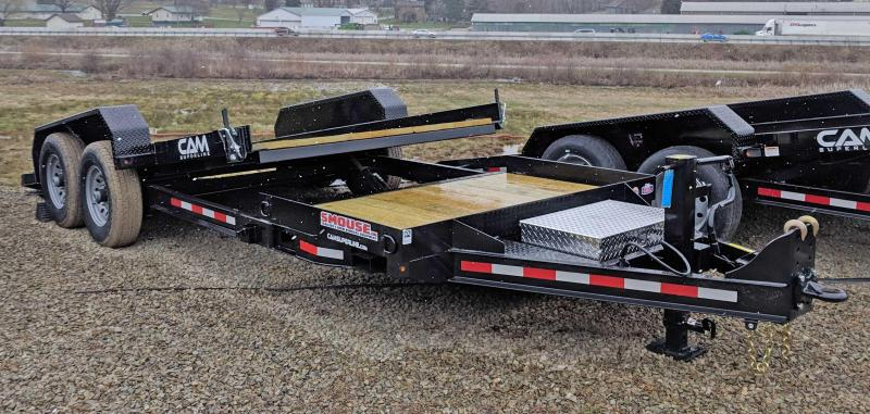 NEW 2019 Cam 19' (4+15) Lo Pro Split Tilt Trailer