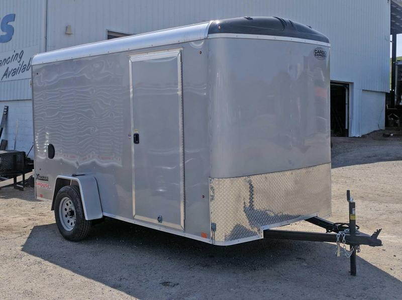 "NEW 2017 Cargo Express 6x12 XLR w/ Ramp Door & 6"" Additional Height"