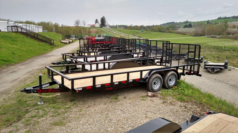 NEW 2018 Quality Trailers 7X20 HD Pro w/ Spring Assist Gate & 2