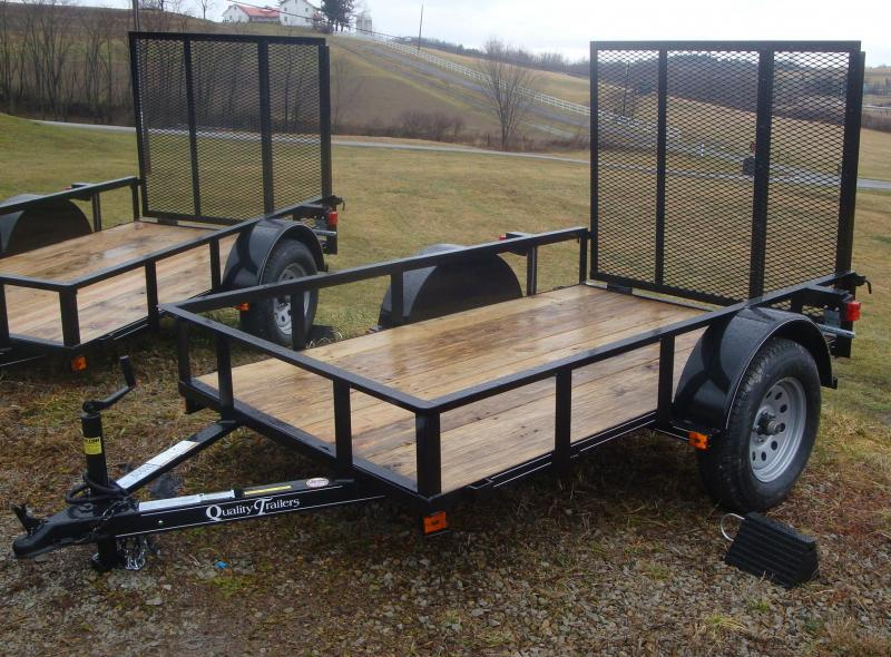 NEW 2020 Quality 5x8 Econo Utility Trailer