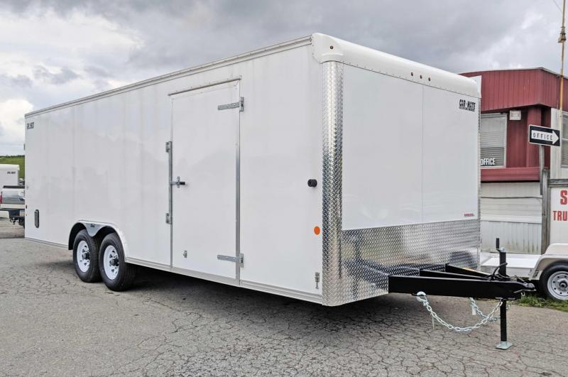 NEW 2019 Car Mate 8.5 x 24 HD Car Hauler w/ Ramp