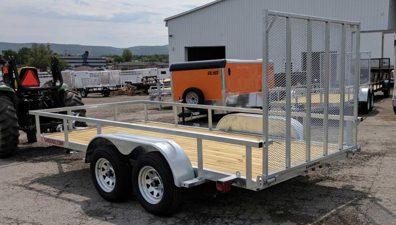 NEW 2018 Load Rite 6X12 Tandem Utility w/ Spring Assist Gate
