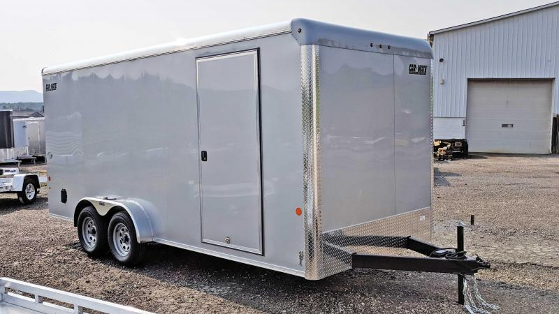NEW 2019 Car Mate 7X18 HD Custom Enclosed Cargo Trailer w/ Ramp Door