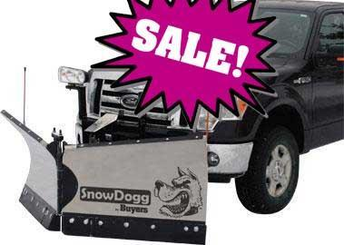 CALL FOR SALE PRICE!! NEW SnowDogg 7.5' Medium Duty Stainless Steel V-Plow- 2 LEFT IN STOCK