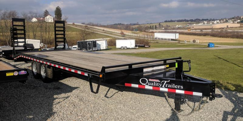 NEW 2019 Quality 18+ 5 PRO Deckover Tagalong Equipment Trailer w/ Spring Assist Ramps