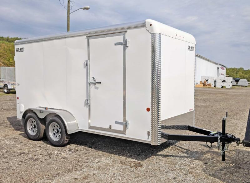 NEW 2019 Car Mate 6x14 HD Custom Cargo Enclosed Trailer w/ Ramp Door
