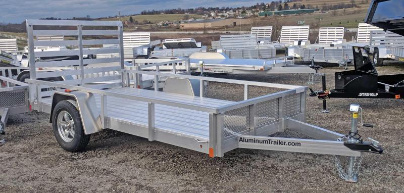 NEW 2018 ATC 6x12 Utility Trailer w/ Aluminum Wheels & Gravel Guard