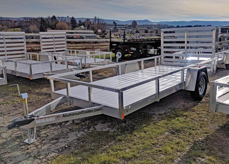 NEW 2018 ATC 6x14 Aluminum Utility Trailer w/ Aluminum Wheels