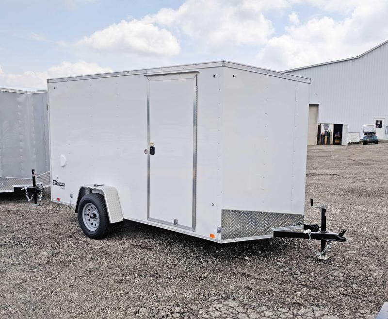NEW 2020 Cargo Express 6 X 12 EX DLX -Nose Cargo Trailer w/ Ramp