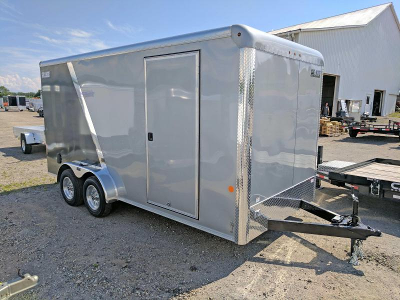 "NEW 2018 Car Mate 7X16 HD Custom Cargo Trailer w/ Ramp & Additional 12"" Height"