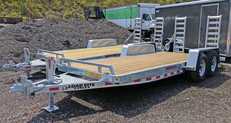 NEW 2018 Load Rite 18' HD Equipment Hauler w/ 2' Dove