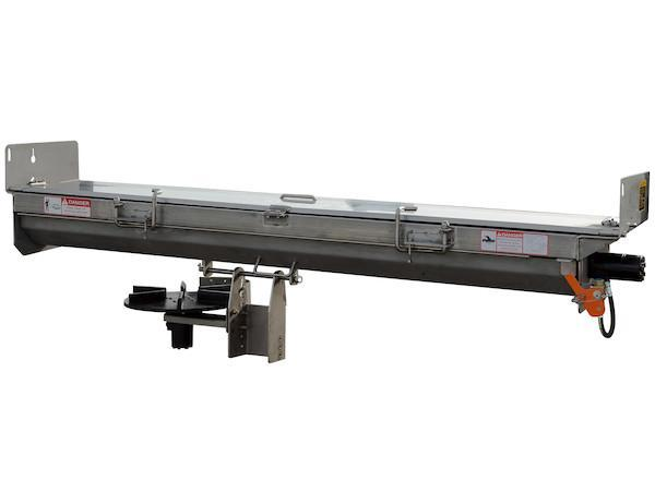 """NEW 2018 SaltDogg 96"""" Stainless Steel Hydraulic Under Tailgate Salt Spreader"""