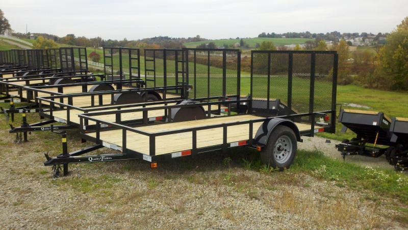 NEW 2019 Quality 6x12 Econo Utility Trailer