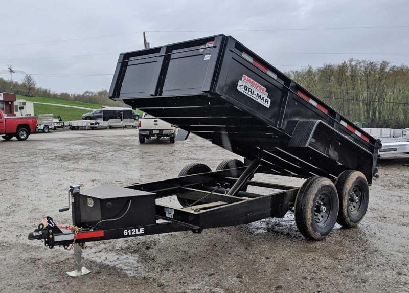 NEW 2020 Bri-Mar 6x12 Lo Pro Equipment Dump Trailer