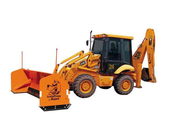 NEW ScoopDogg 12' Backhoe Pusher-1 LEFT IN STOCK
