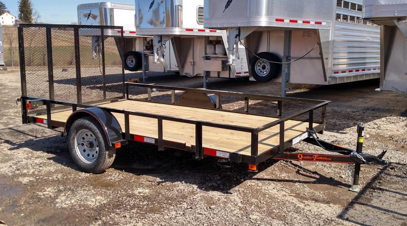 NEW 2019 Quality 5x10 General Duty Utility Trailer