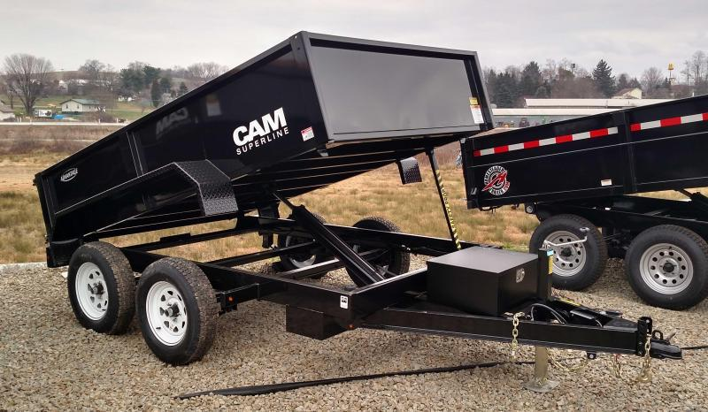 "NEW 2018 CAM ""Advantage"" 6x10 Lo Pro Dump Trailer (8050# GVW)"