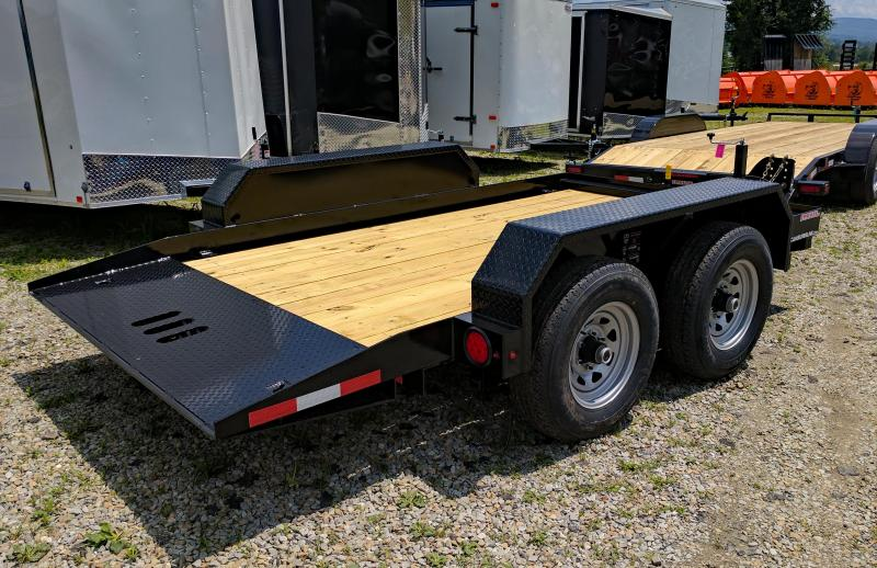 NEW 2019 CAM 6x12 Tandem Axle Tilt Trailer