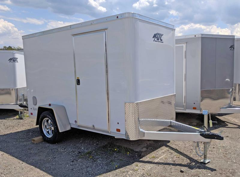"NEW 2018 ATC 5X10 ""Raven"" Aluminum Cargo w/ Ramp Door"
