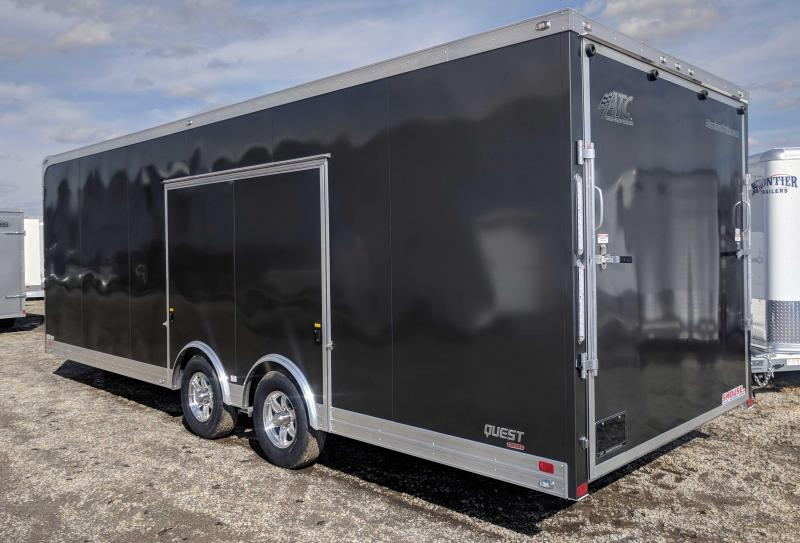 NEW 2018 ATC 8.5 x 24 Quest Car Hauler CH205 (9990# GVW)