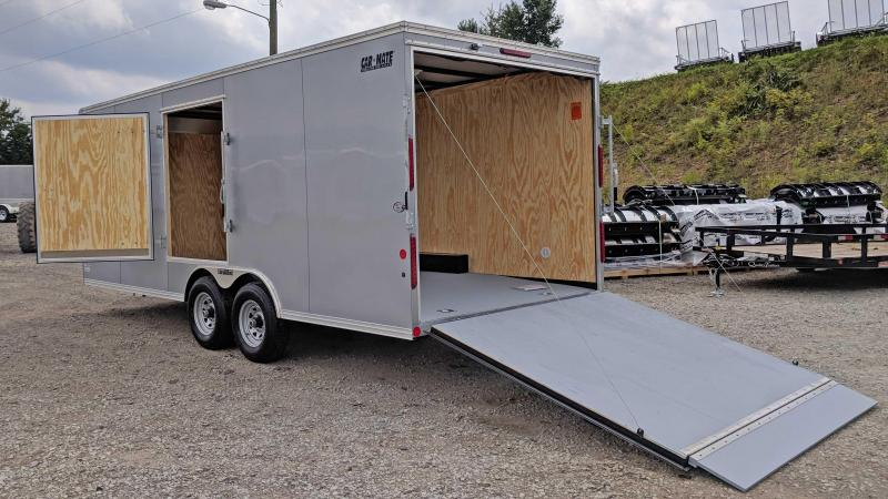NEW 2019 Car Mate 8x20 HD Custom Car Hauler w/ Ramp Door
