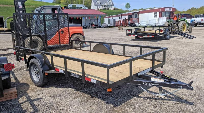 NEW 2019 Quality  6 X 12 PRO  Utility Trailer w/ Spring Assist / Lay Flat Gate