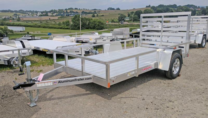NEW 2018 ATC 6x12 Utility Trailer w/ Aluminum Wheels