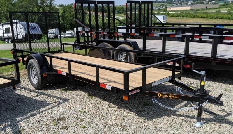 NEW 2020 Quality 5x14 General Duty Utility Trailer