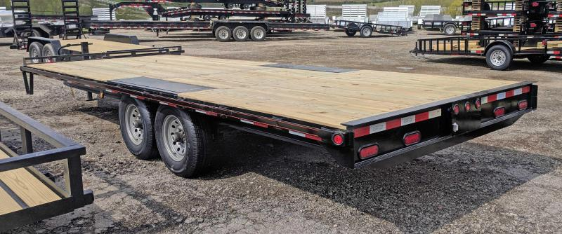 NEW 2019 Quality 22' General Duty Deckover Equipment Trailer (Straight Deck)