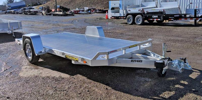 "NEW 2020 Aluma 6'10"" X 14 HEAVY Single Utility Trailer w/ Underbody Ramps"