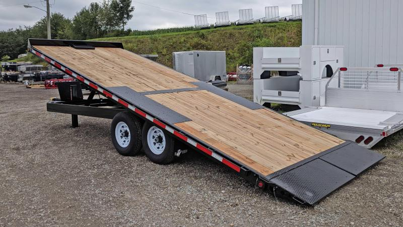 NEW 2019 B-Wise 22' HD Deckover Power Tilt Trailer
